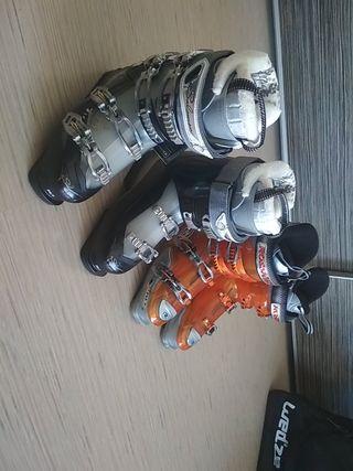 Botas de esquí hombre y mujer