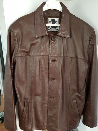 525ce6a4159dc Chaqueta para hombre piel de segunda mano en Molina de Segura. chaqueta de  cuero