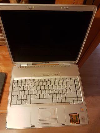 ordenador compac para piezas