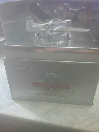 maqueta 1/48 metalica p-51 d mustang