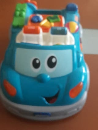 Coche interactivo y educativo de chicco