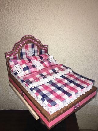 Cama de muñecas (Barbie)