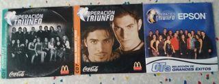 CDs Operación Triunfo 2 y 3