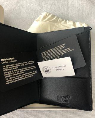 Funda Meisterstück pasaporte Nueva