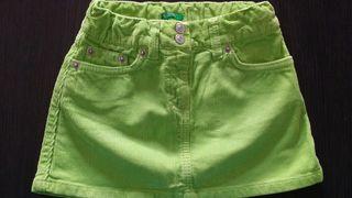 Falda de pana Benetton