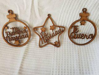 Decoración para Navidad personalizada