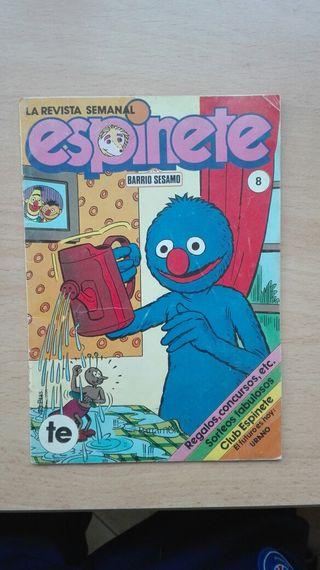 Cómic espinete 1986