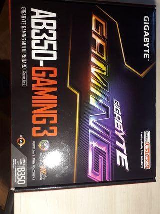 Placa base Gigabyte AB350 Gaming3