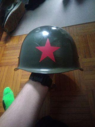 casco soviético original segunda guerra mundial