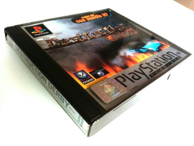 Destruction Derby PAL España, Platinum