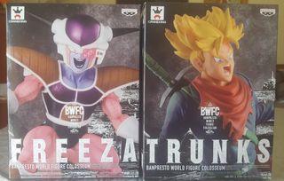2 Figuras colección bwfc Colosseum Freezer Trunks