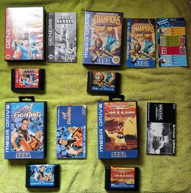 Sega Pack Juegos De Lucha De Sega Megadrive De Segunda Mano Por 430
