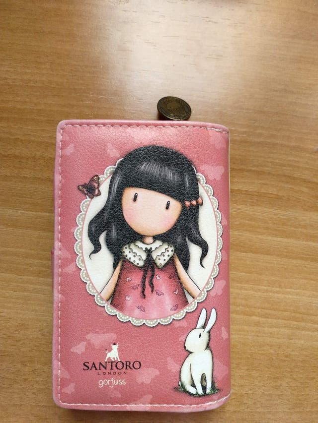 cartera billetero gorjuss original