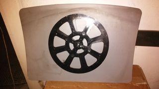mesa giratoria manual para televisión o expositor