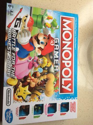 Monopoly Gamer Mario Versión inglesa