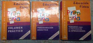 Libros oposiciones magisterio EF
