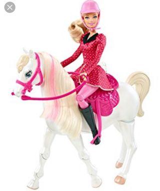 Aventura Barbie Interactivo Por 35 Mattel Segunda Mano Caballo De sohCtBrxQd