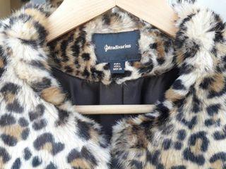 Abrigo Pelito de Leopardo