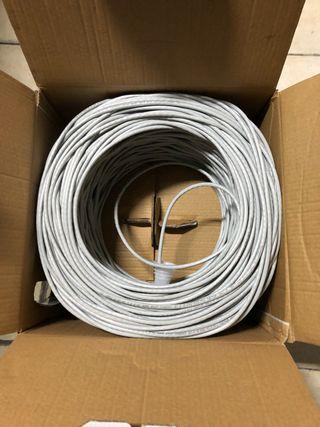 Cable UTP categoría 6 caja de 250 mts