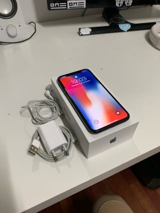 iPhone X 64Gb Gris Espacial GARANTÍA