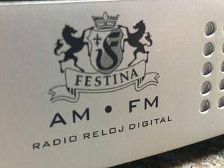 Radio-Reloj y Despertador FESTINA digital