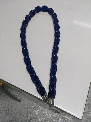 Cadena hierro forrada plástico
