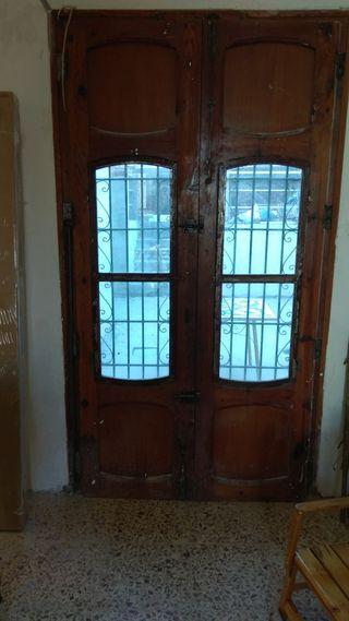 Puertas de entrada antiguas de segunda mano por 200 en massamagrell en wallapop - Puertas de entrada de segunda mano ...