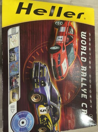 Maqueta worl rally car