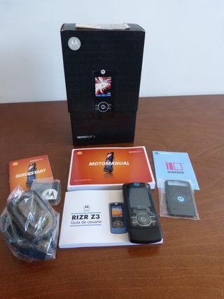 Teléfono Móvil Motorola Rirz Z3. Nuevo a estrenar.