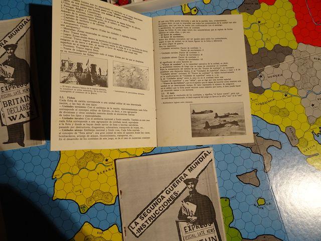 Juego De Mesa La Segunda Guerra Mundial Nac 1982 De Segunda Mano Por