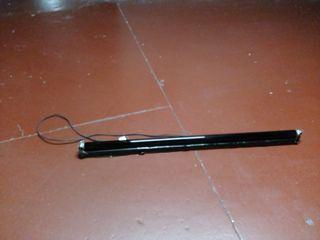luz de tubo negra (UV) más soporte( lampara)