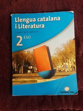 libro de literatura catalan / 2ESO