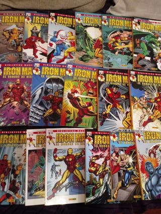 Biblioteca Marvel Iron Man. 1-17.