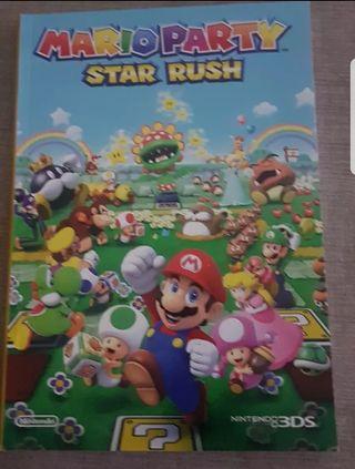 cuaderno Mario Party