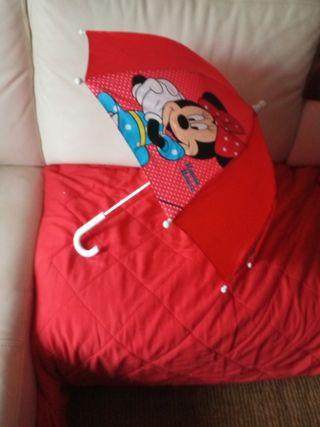 paraguas niña 2 ó 3 años