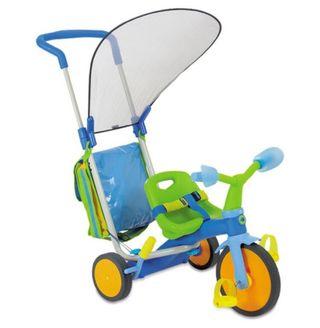 Silla y triciclo para bebés evolutivo