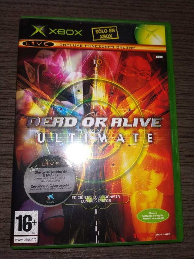 dead or alive ultimate xbox