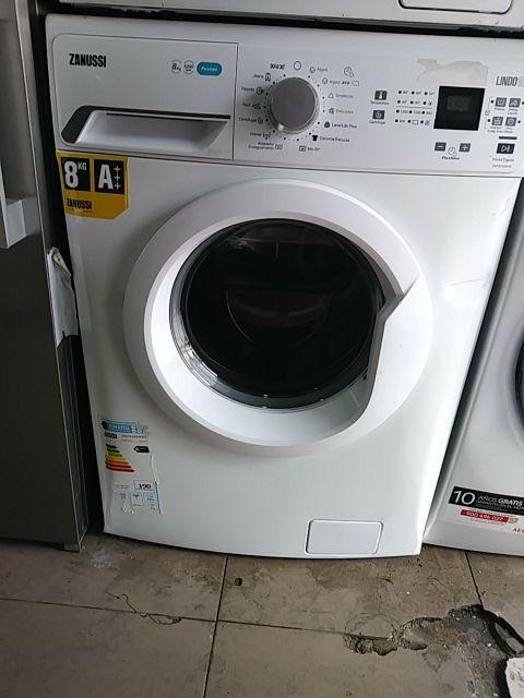 lavadora zanussi 8kg nueva con tara