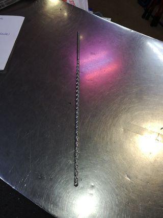 Broca pasamuro 8 mm