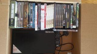 Reproductor dvd Lg + series en DVD