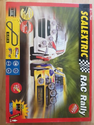 Scalextric Rac Rally version 2001