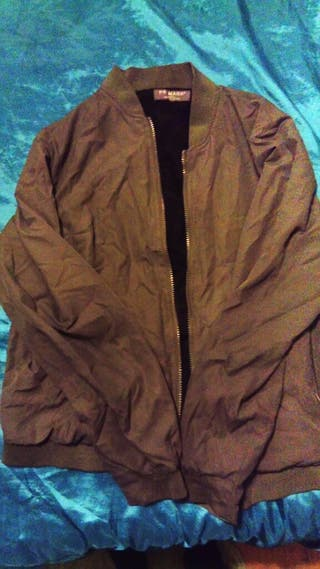 Khaki Bomber Jacket Medium
