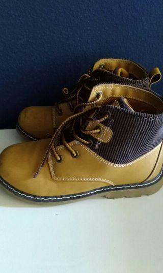 botas niño 32