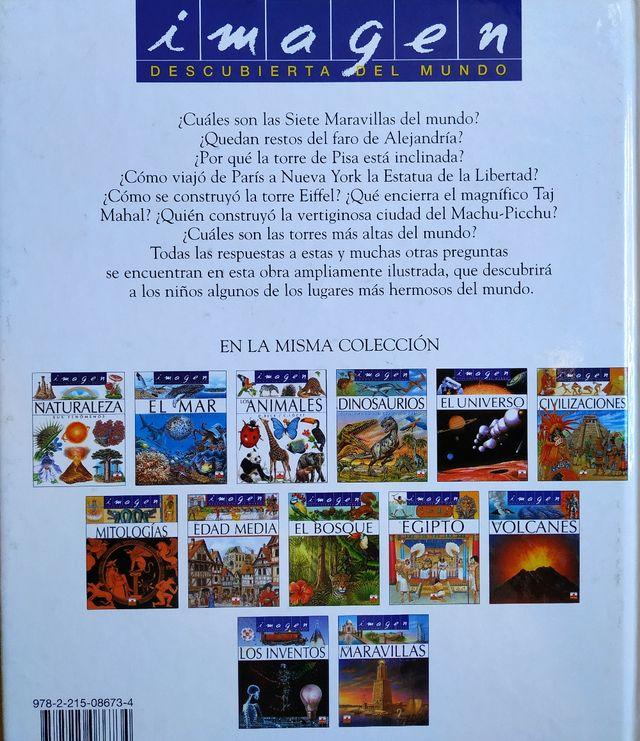 """Libro infantil """"Las maravillas del mundo"""""""
