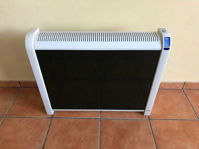 Radiador calor azul acesol fussion glass de segunda mano - Radiadores de calor azul ...