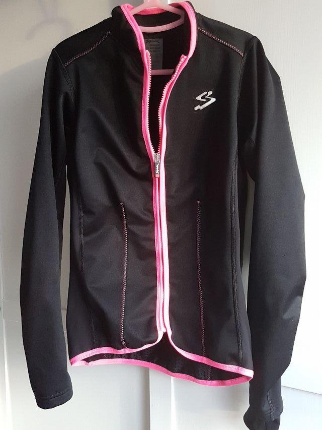 precio brillante n color diseño distintivo Chaqueta ciclismo mujer chica talla S marca spiuk de segunda ...