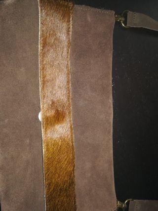 bolso ante marrón
