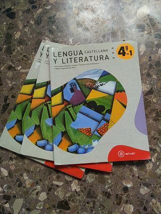 Libro de texto Lengua y Literatura 4ESO