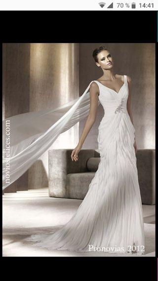 vestido de novia pronovias de segunda mano en la provincia de santa