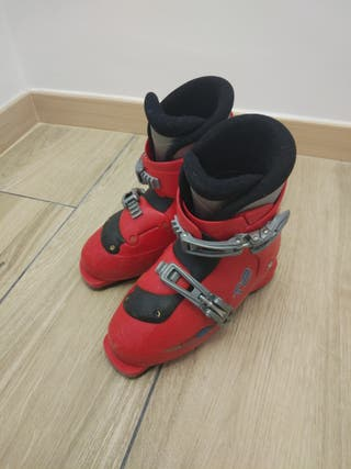 botas esqui niño